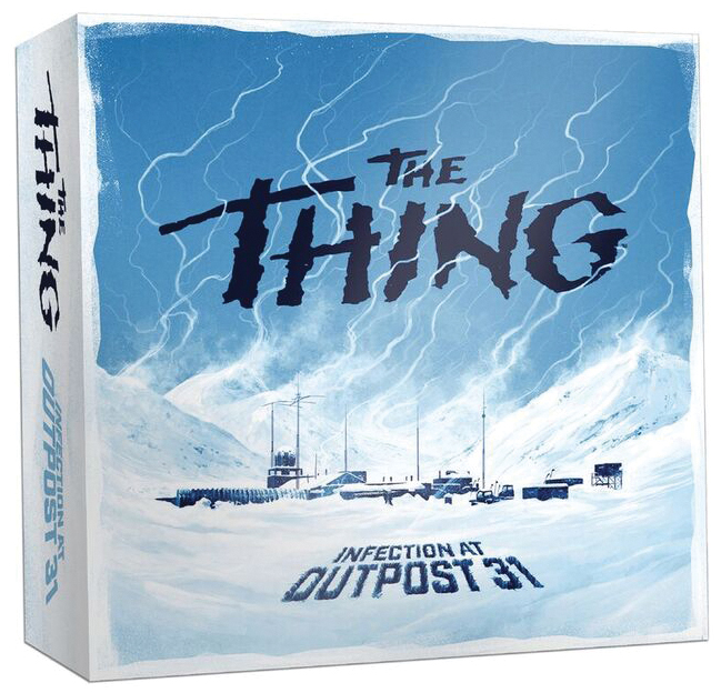 The Thing Infection At Outpost 31 Box Front