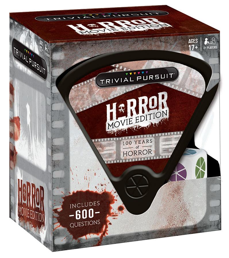 Horror Movie Edition Trivial Pursuit Box Front
