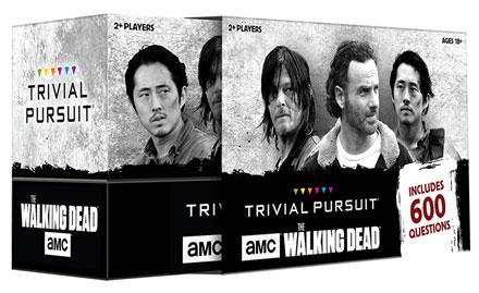 Amc The Walking Dead Trivial Pursuit Box Front