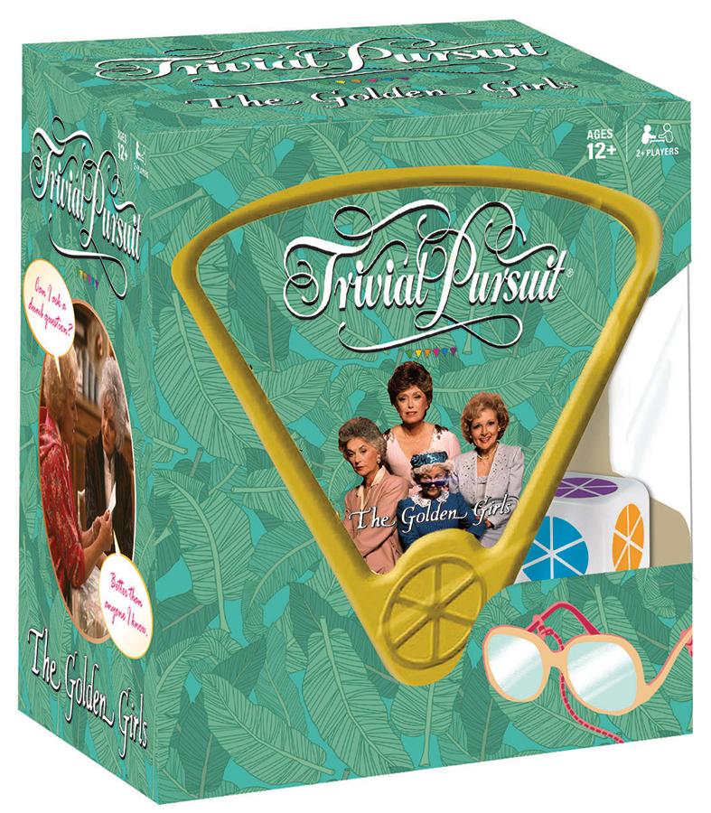 The Golden Girls Trivial Pursuit Box Front