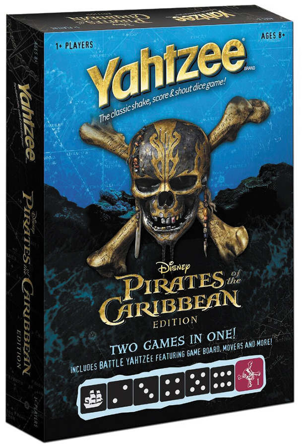 2017 Pirates Of The Caribbean Battle Yahtzee Box Front