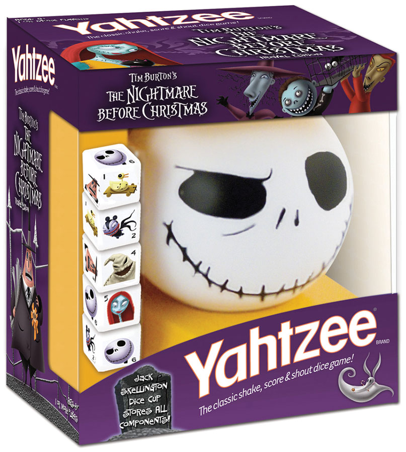Yahtzee The Nightmare Before Christmas Box Front