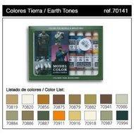 Model Color Set: Earth Tones (16) Box Front