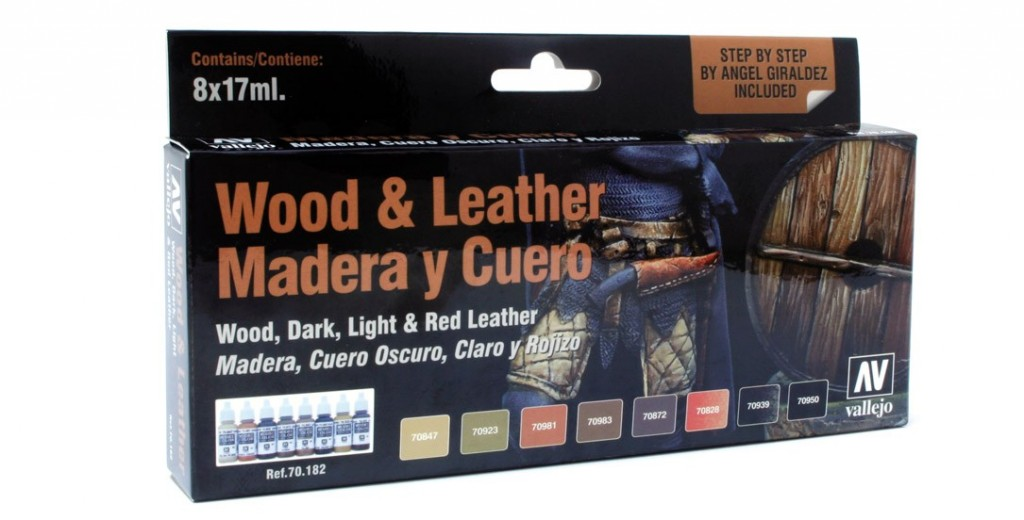 Model Color Set: Wood And Leather (8) Box Front