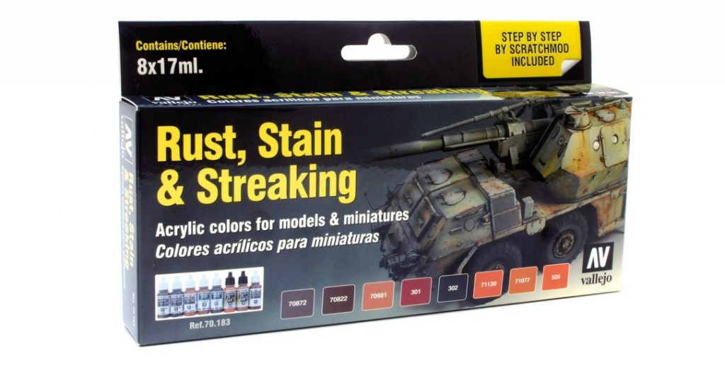 Auxillary Products: Rust Stain And Streaking Set (8) Box Front