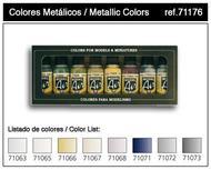Model Air Set: Metallic Colors (8) Box Front