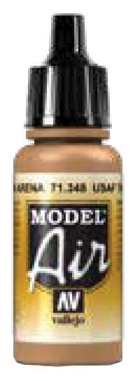Model Air: Usaf Tan (17ml) Box Front