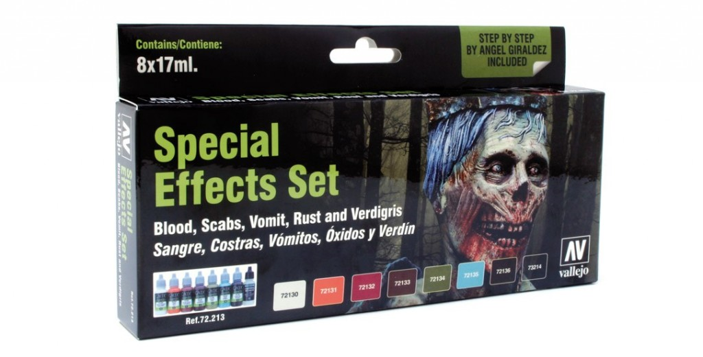 Game Color Set: Special Effects Set (8) Box Front