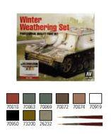 Model Air Set: Winter Weathering (8) Box Front