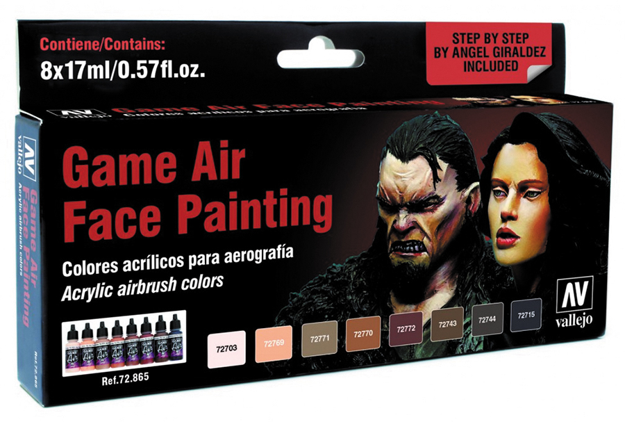 Game Air Set: Face Painting (by Angel Giraldez) (8) Box Front