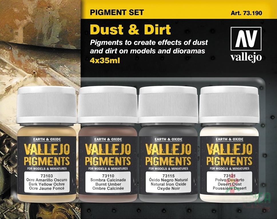 Pigment Set: Dust & Dirt Box Front