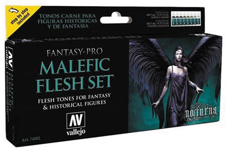 Fantasy Pro: Malefic Flesh Set (8) Box Front