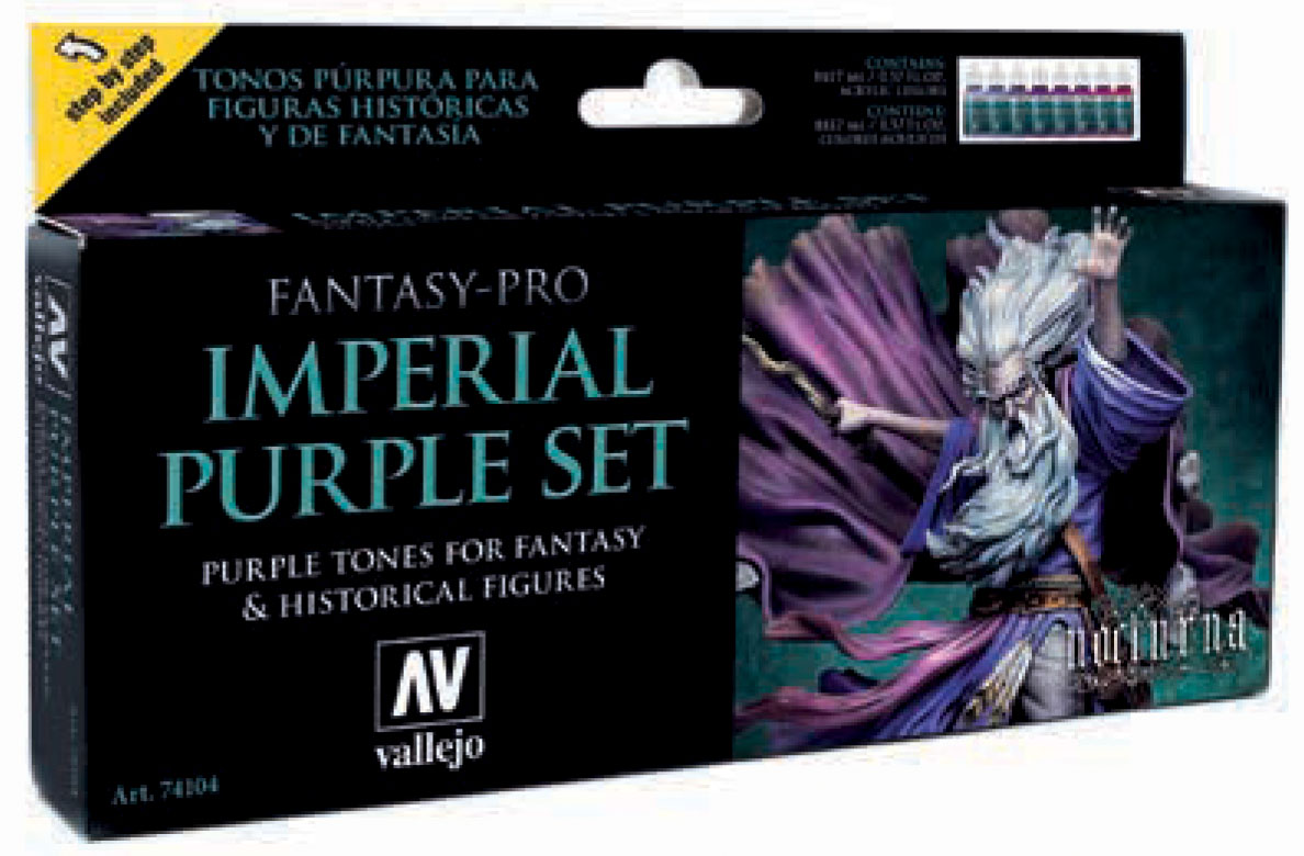 Fantasy-pro: Imperial Purple Set (8) Box Front