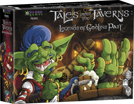 Tales From The Taverns: Legends Of Goblins Past Box Front