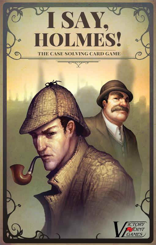 I Say, Holmes! Box Front