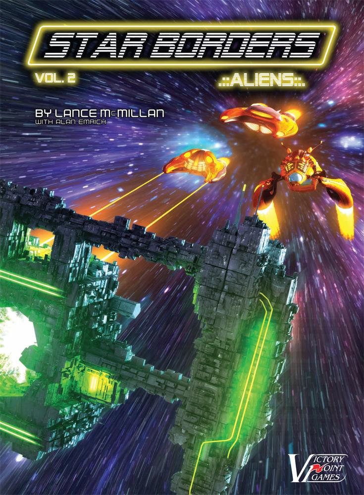 Star Borders: Aliens Box Box Front
