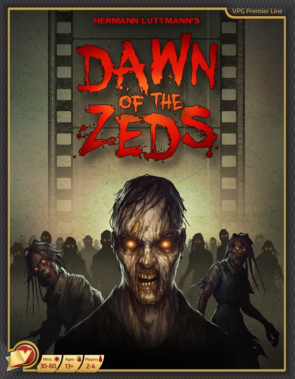 Dawn Of The Zeds 3rd Edition Box Box Front