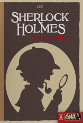 Graphic Novel Adventures: Sherlock Holmes Box Front