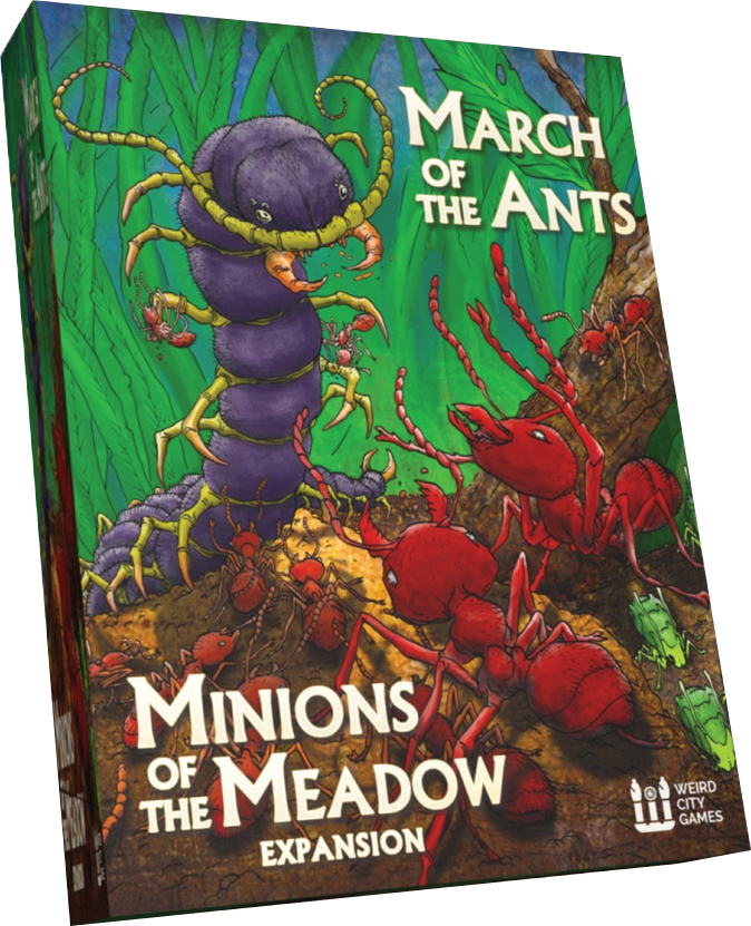 March Of The Ants: Minions Of The Meadow Expansion Box Front