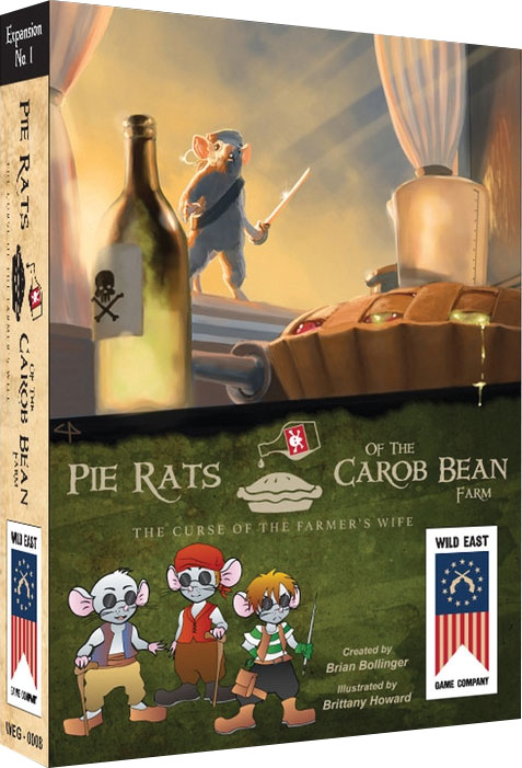Pie Rats: Curse Of The Farmer`s Wife Game Box