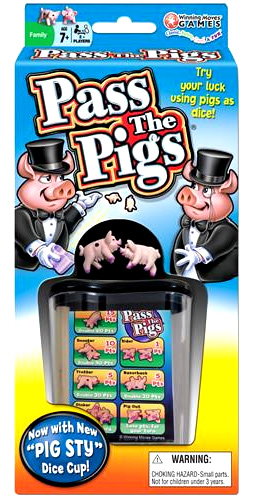 Pass The Pigs Box Front