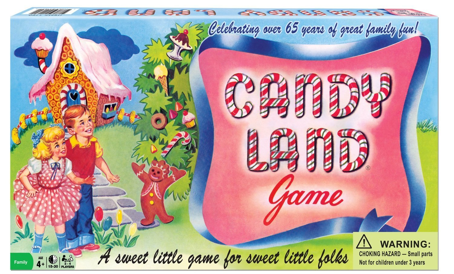 Candyland Game: 65th Anniversary Edition Box Front