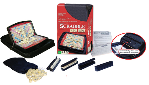 Scrabble To Go Box Front