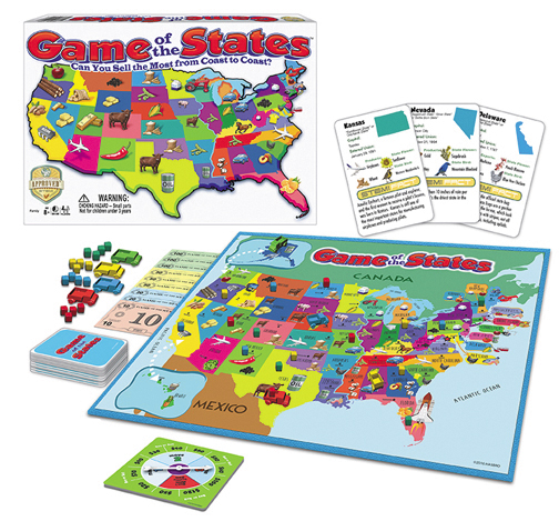 Game Of The States Box Front
