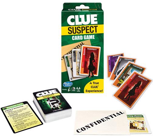 Clue Suspect Card Game Game Box