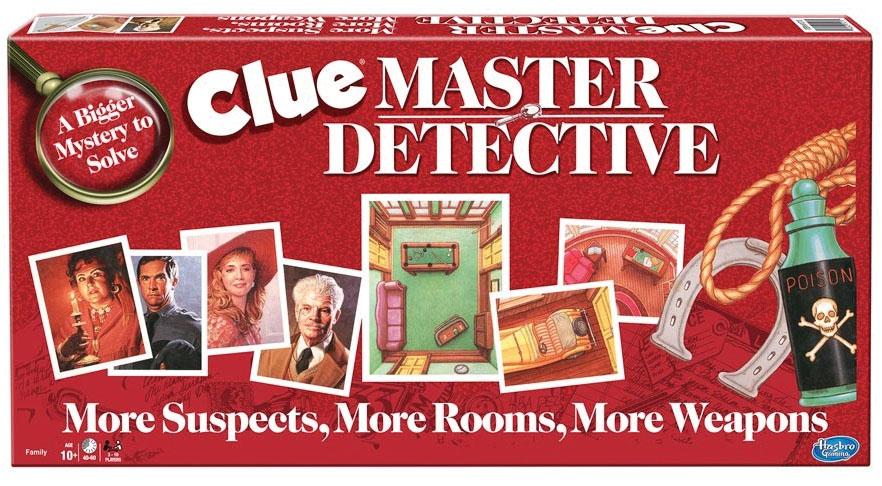 Clue Master Detective Game Box