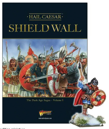 Hail Caesar: Shield Wall - The Dark Age Sagas Volume I Box Front