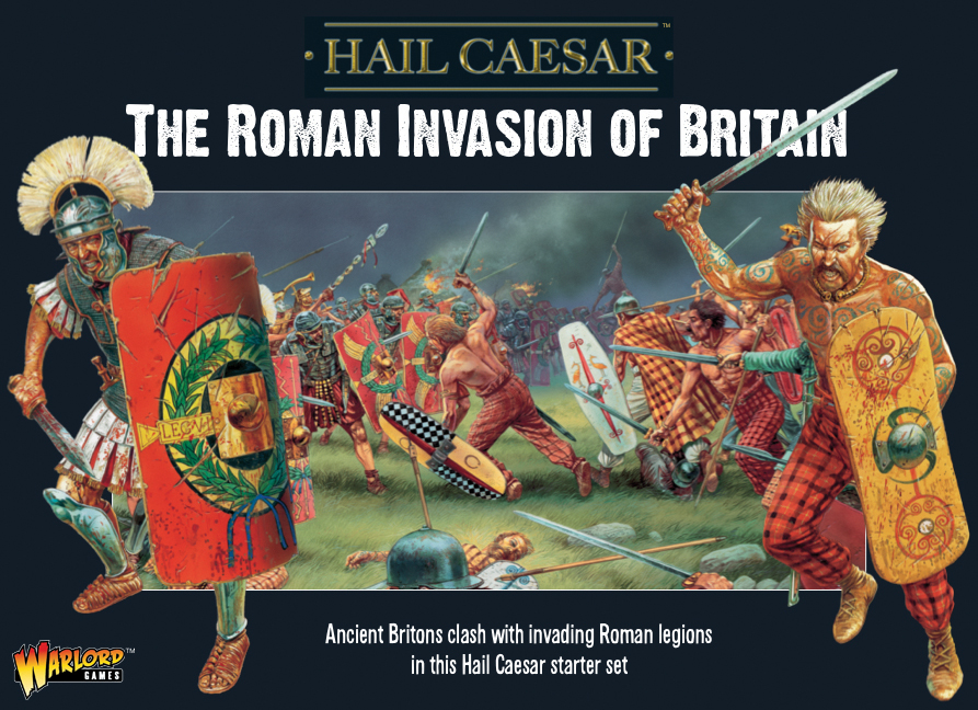Hail Caesar: The Roman Invasion Of Britain Starter Set Box Front