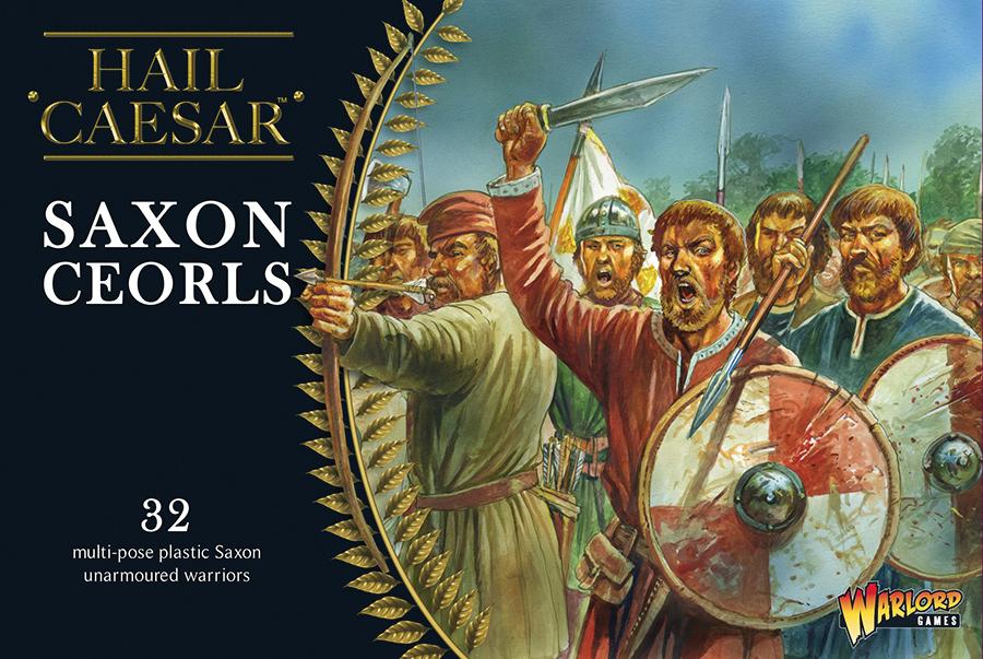 Hail Caesar: Saxon Ceorls Box Front