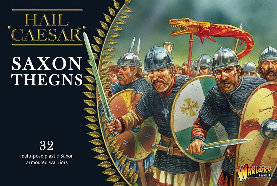 Hail Caesar: Saxon Thegns Box Front