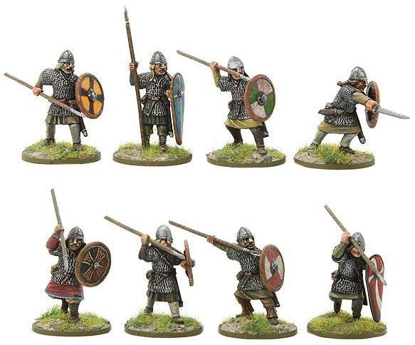 Hail Caesar: Saxon Huscarls A Box Front