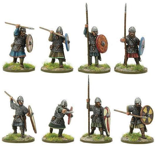Hail Caesar: Saxon Huscarls With Dane Axe Box Front