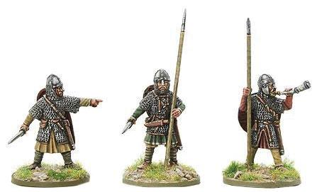 Hail Caesar: Saxon Leaders - Battle Of Hastings Box Front