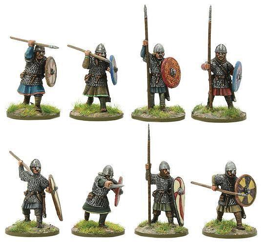 Hail Caesar: Saxon Huscarls B Box Front
