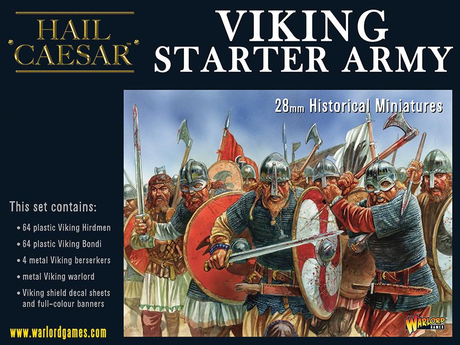 Hail Caesar: Viking Army Box Front