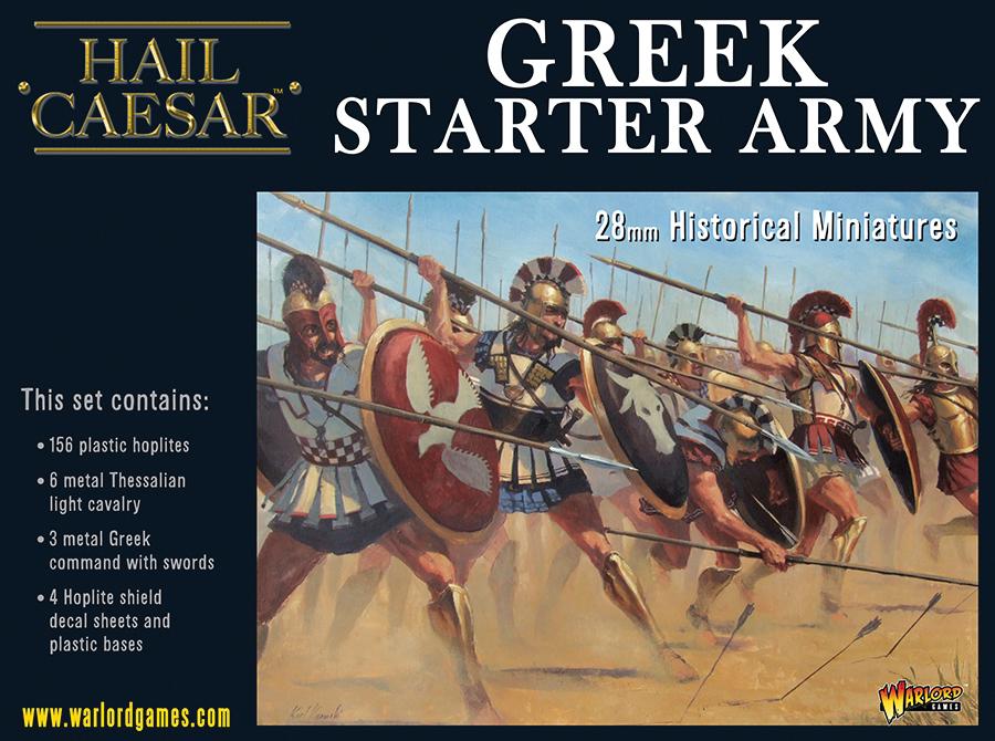 Hail Caesar: Greek Starter Army Box Front