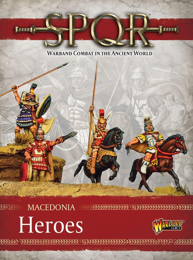 Spqr: Macedonia - Heroes Game Box