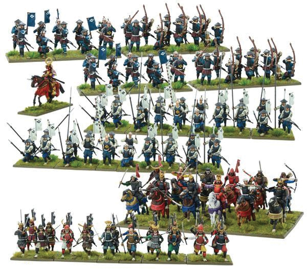 Pike And Shotte: Samurai Starter Army Box Front