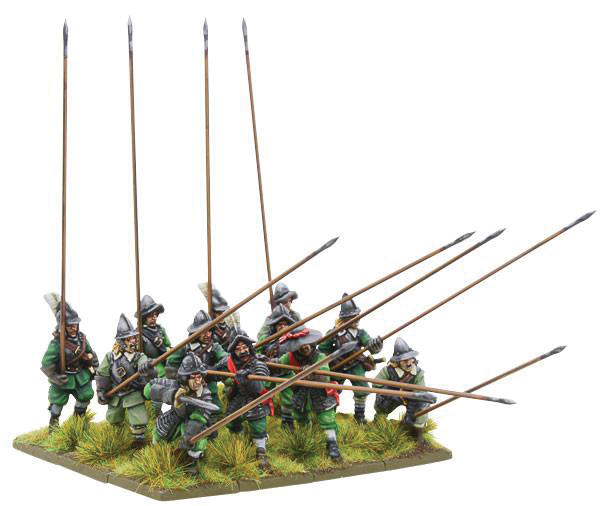 Pike And Shotte: Armoured Pikemen Box Front