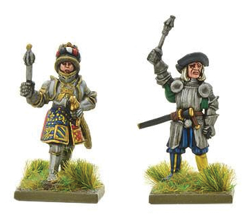 Pike And Shotte: Kaiser Maximilian I (young & Old) Box Front