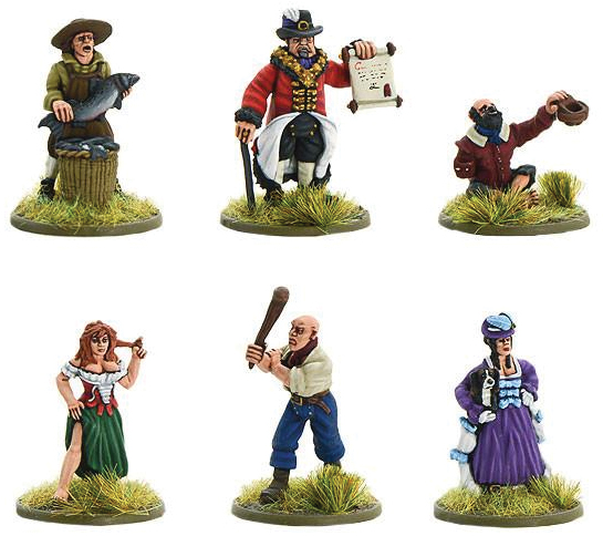 Pike & Shotte: Townsfolk Box Front