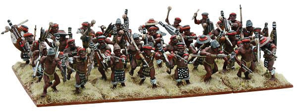 Black Powder: Anglo Zulu War Natal Native Contingent Regiment Box Front
