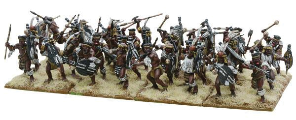 Black Powder: Anglo Zulu War Married Zulu Impi Box Front