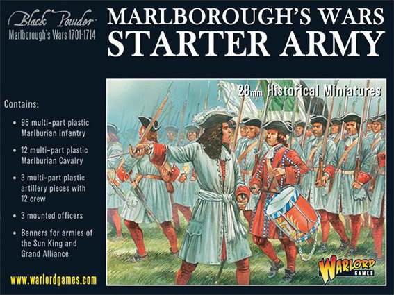 Black Powder: Marlborough`s Wars- Starter Army Box Front