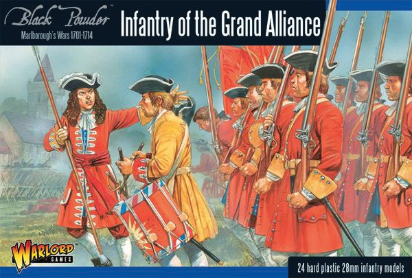 Black Powder: Marlborough`s Wars- Infantry Of The Grand Alliance Box Front