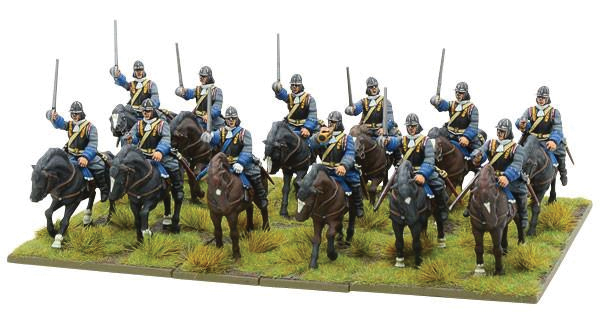 Black Powder: Marlborough`s Wars- Cavalry Of The Sun King Box Front